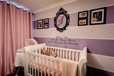 deco mur chambre bebe couleur chambre b 233 b 233 osez le violet