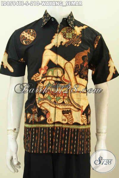 Hem Kemeja Pria Batik Wayang by Baju Batik Pria Muda Hem Batik Remaja Pria Kemeja Batik