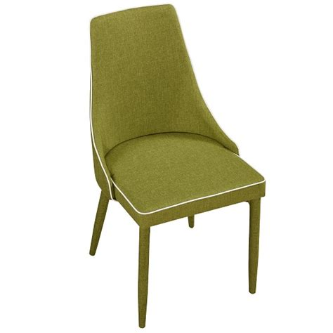 Westport Stylish Dining Chair In Green Fabric Dining Green Fabric Dining Chairs