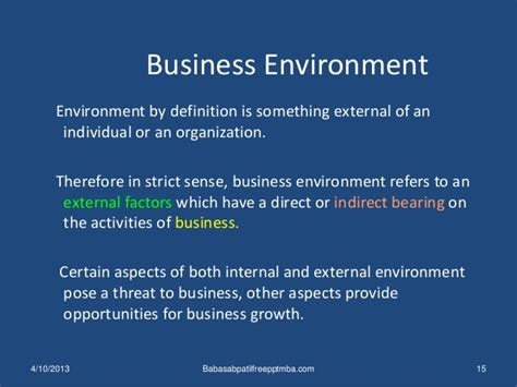 Meaning Of Mba In Business Administration by Business Environment 1 St Module Mba Management