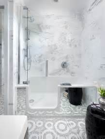 Shower In Bath Bathroom Walk In Bathtub Shower Combo Ideas With