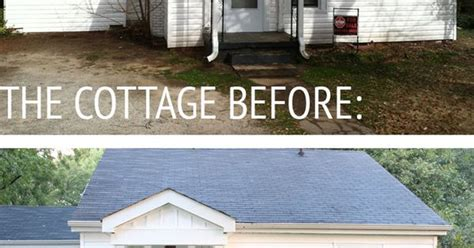 our cottage exterior before after our cottage exterior before after buffalo budgeting