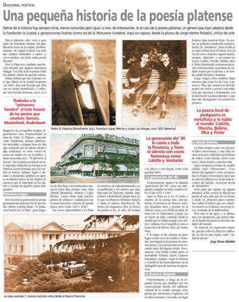 pequea historia de la teatro independiente la plata argentina una peque 241 a historia de la poes 237 a platense