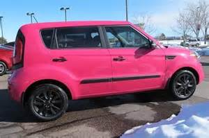 Pink Kia Soul Pin By Iseecars On Pink Cars Pink Trucks Pink Suvs Pink
