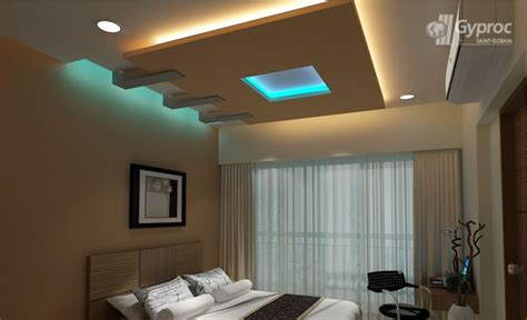 Ceiling Designs For Small Bedrooms Bedroom Ceiling Designs False Ceiling Design Gallery Gobain Gyproc India Casitaaa