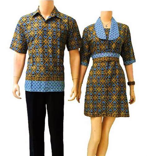 desain baju batik couple terbaru desain baju batik couple trendy di 2015 model gaya