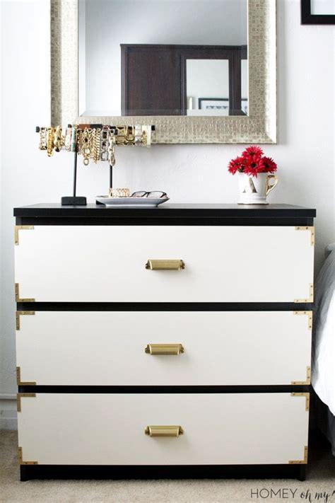 Ikea Hacks Malm Dresser by Campaign Style Dresser Ikea Malm Makeover