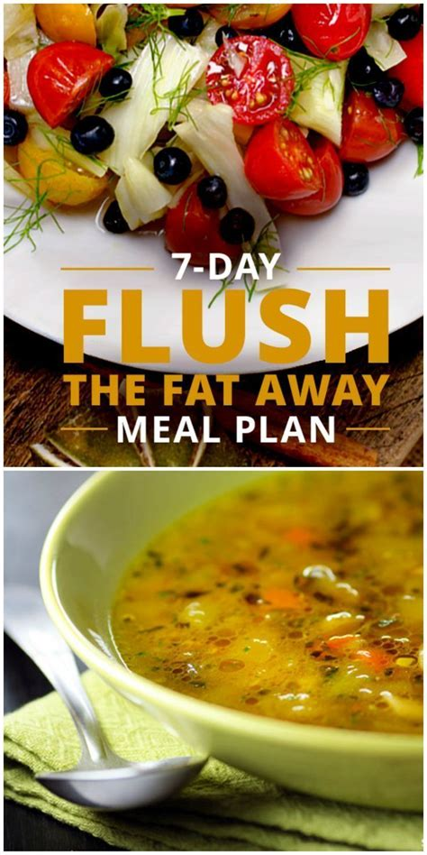 Ms Detox Soup by 7 Day Flush The Away Meal Plan Ms Sheds And