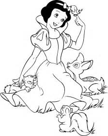 snow white coloring page snow white coloring pages minister coloring