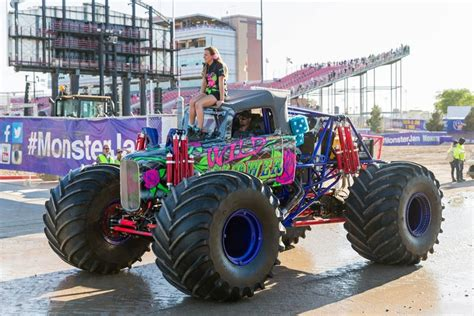 how to become a monster truck driver for monster jam keeping up with the country s youngest female monster