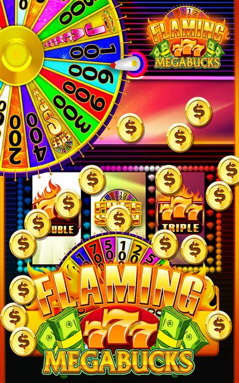 amazoncom flaming  megabucks  spin slots las vegas classic slot machines