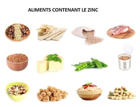 alimenti contenente zinco traitement de diabete