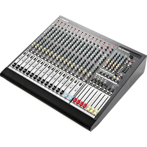 Mixer Allen Heath Gl2400 16 allen heath gl2400 16 16 channel 4 buss live mixing