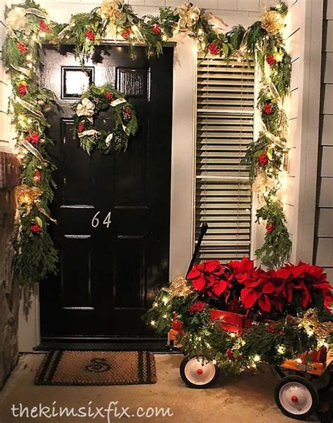 christmas porch decorating ideas 35 cool christmas porch decorating ideas all about christmas
