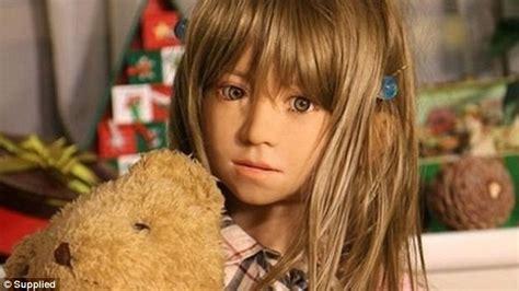 anatomically correct child doll paedophile shin takagi who makes child like dolls says