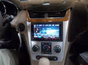 chevy malibu touch screen stereo car audio lovers