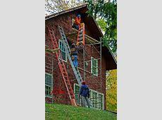 Ladder Safety Training Course - Page 149 - InterNACHI ... Unsafe Ladder Safety