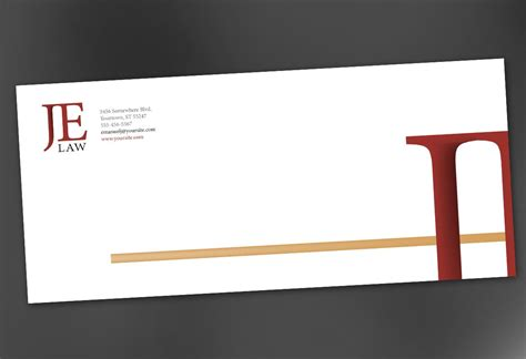 firm template envelope template for attorney firm order custom