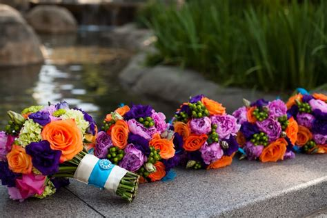 colorful wedding colorful modern atlanta wedding every last detail