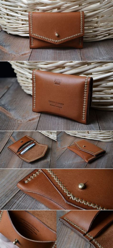 25 unique card wallet ideas on leather card