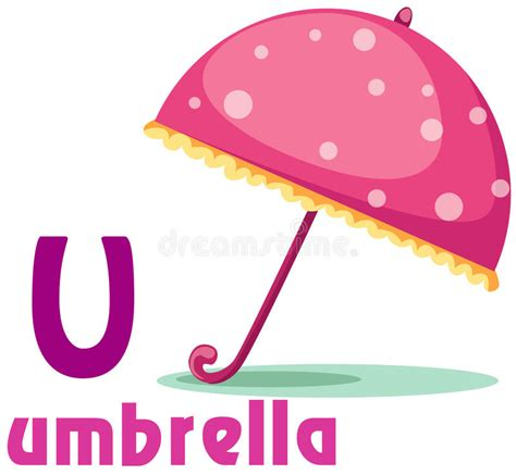 animal alphabet u stock photo image 8440040 alphabet u with umbrella stock vector illustration of