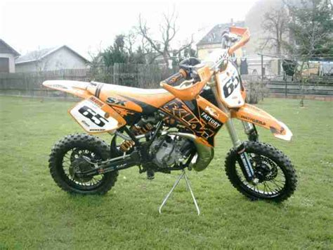 Cross Motorrad 65ccm by Ktm Vollcross 65 Ccm Sehr Gut Erhalten Bestes Angebot