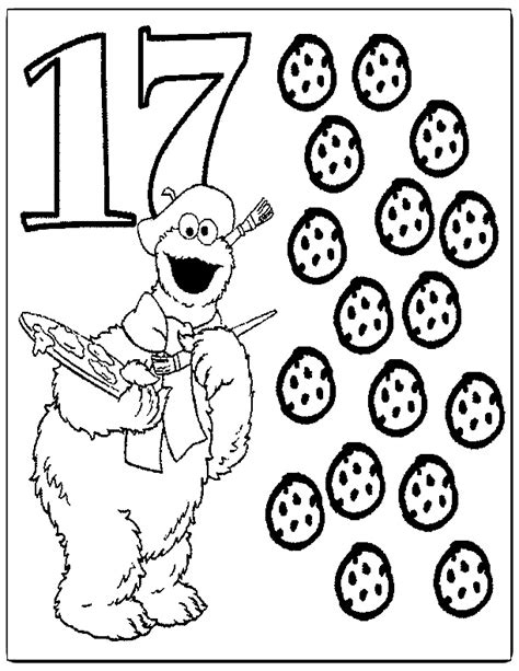 coloring pages numbers sesame street z onae coloring education sesame street numbers