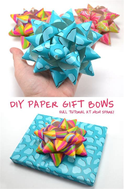 Bows Out Of Wrapping Paper - 25 best ideas about wrapping paper bows on