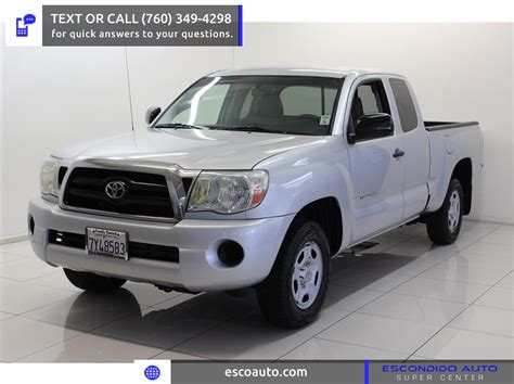 Toyota Tacoma For Sale San Diego Used 2006 Toyota Tacoma Prerunner For Sale San Diego Ca