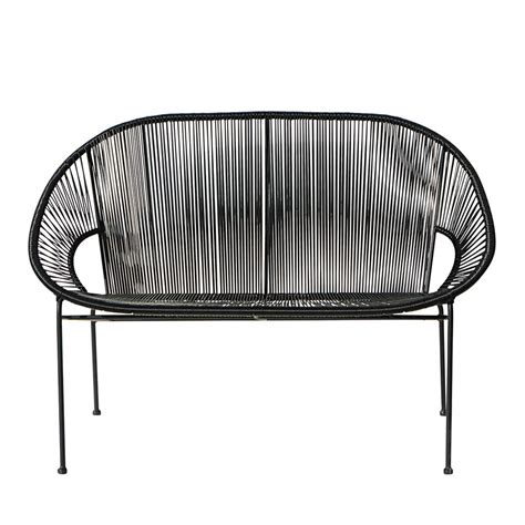Banc De Jardin Metal by Banc De Jardin Empilable 2 3 Places En Fil De R 233 Sine Et