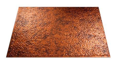 copper backsplash sheets