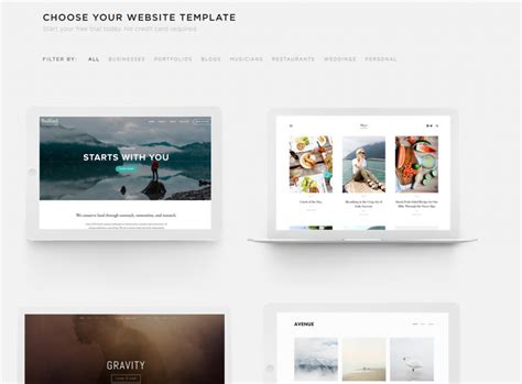 Squarespace Review Build A Beautiful Website Besthosting Com Squarespace Responsive Templates