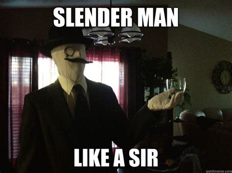 Slender Man Meme - 25 funny slender man pics and gifs break com