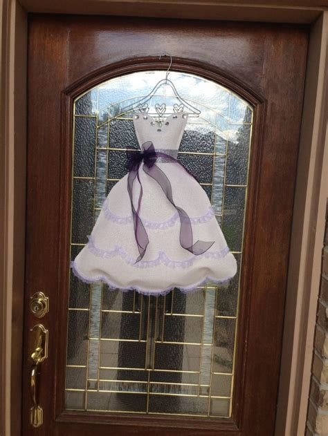 Bridal Shower Door Decoration   Bridal shower   Pinterest