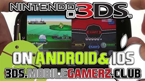 3ds emulator mobile nintendo 3ds emulator iphone apk play 3ds mobile