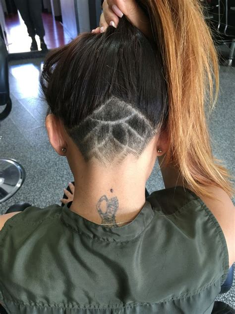 back of head shaved hair designs undercut hair tattoo my second touch up looks like this