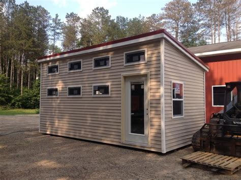 Tiny Home Michigan | 200 sq ft standard tiny house by michigan tiny homes