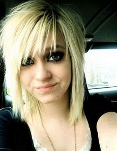 emo hairstyles for medium long hair medium emo hairstyles