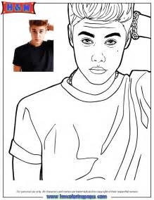 justin bieber coloring pages singer justin bieber looking confused coloring page h