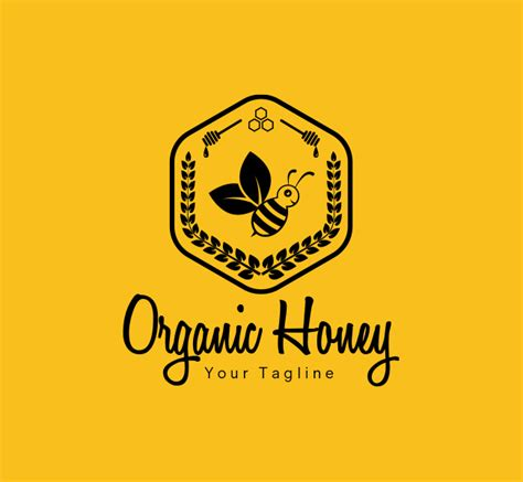 Home Decor Owl Organic Honey Logo Amp Business Card Template The Design Love