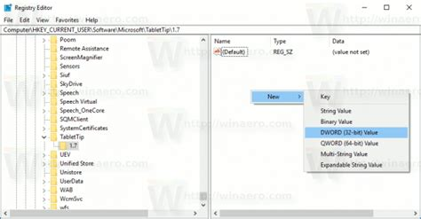 keyboard layout windows 7 registry enable standard layout in touch keyboard in windows 10