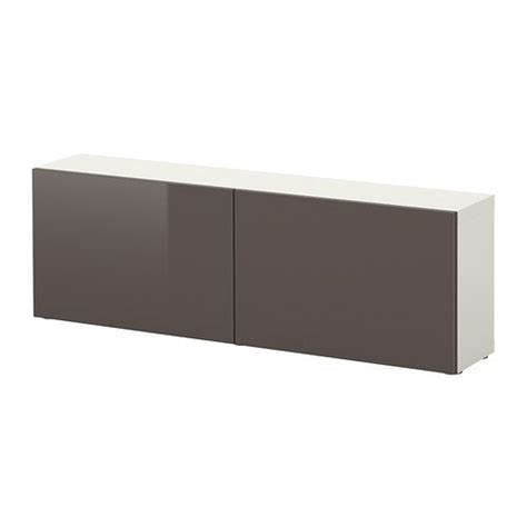 besta sideboard ikea besta shelf unit with doors white high gloss gray