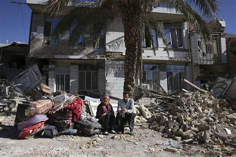 earthquake iran devastating scenes as 450 killed in iran iraq quake iran