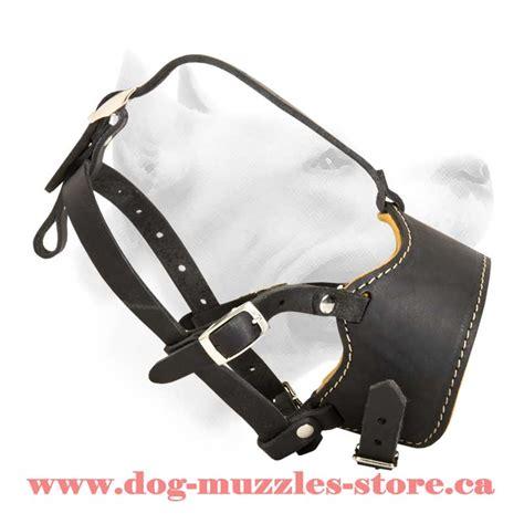 leather muzzle anti barking leather muzzle m63 1062 leather muzzle muzzles leather