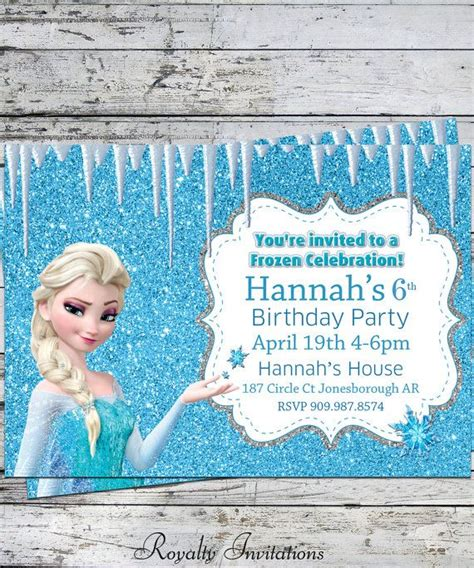 disney frozen birthday invitations disney frozen birthday birthday disney invitations and kid