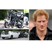 Prince Harrys Motorcade Involved In High Speed Crash