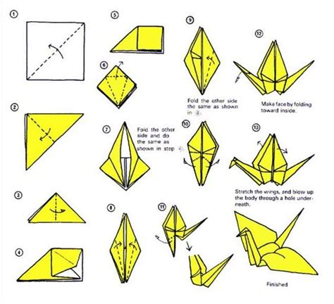 How Many Paper Cranes Did Sadako Make - try this origami crane http 28 images 1000 images
