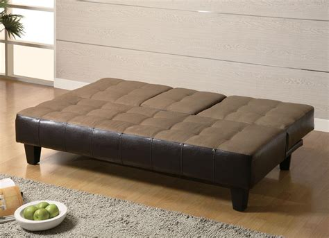 bed sofa ideas decoration ideas beautiful black leather tufted fold up