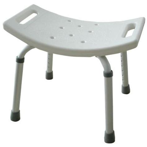 Home Depot Showers With Seat amerihome molded plastic shower seat bt07420 the home depot