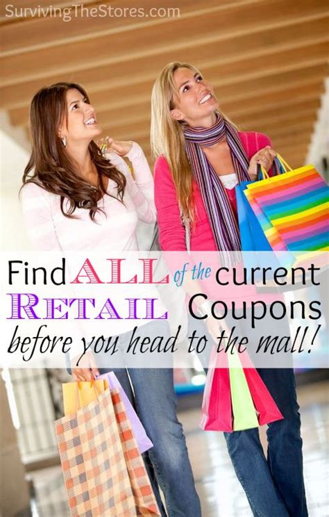coupons retail stores